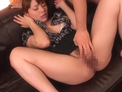 Tina Yuzuki in Young Wife is a Cleaning Fellatio Lover part 2.2