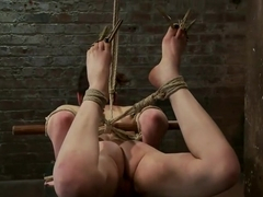 Sweet Juliette Hogtied and Violated by Isis Love