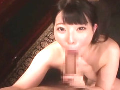 Horny Japanese chick Ai Uehara in Incredible Rimming, Gangbang JAV video
