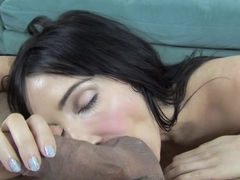 Exotic pornstars Diana Prince, Johnny Fender in Best Stockings, Swallow porn scene