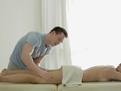 Masseur Fucks Fantastic Blonde