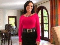 Busty mature Milf Charlie Anne