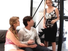 LiveGonzo Jessie Andrews & Julia Ann Teen and MILF