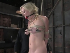 Seven is back for breast bondage, crotch rope hell, and eye rolling massive orgasms.
