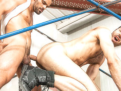 Damien Crosse & Dario Beck in Truck Stop Part 2 - DrillMyHole
