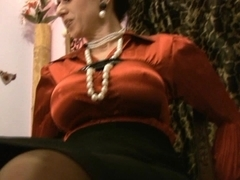 Trinity-Productions: Satin Milf Distress