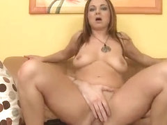 Big ass milf hardcore and cum on tits