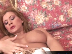 Dildo session with Dorothy Black