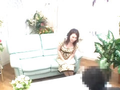 Spy cam sex video in which a japanese lady gets screwed hard
