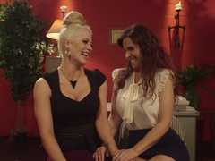 Horny milf, fetish porn scene with incredible pornstars Syren de Mer and Holly Heart from Whippeda.