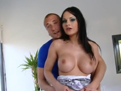 Hungarian cutie Abbie Cat gets her fit ass licked